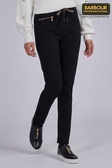 Barbour® International Black Formal Qualify Leggings