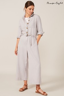 Phase Eight Grey Jarah Jumpsuit