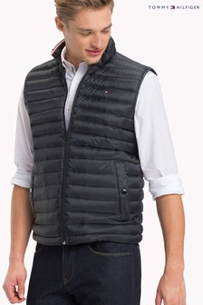 Tommy Hilfiger Black Core Packable Down Gilet