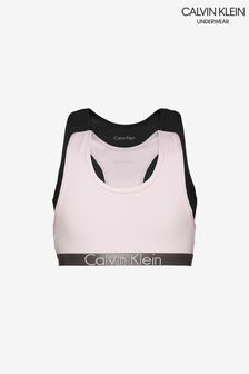 Calvin Klein Girls Customized Stretch Bralettes Two Pack