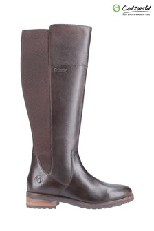 Cotswold Brown Montpellier Long Boots
