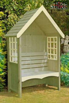 Mimosa Garden Arbour With Bench By Shire