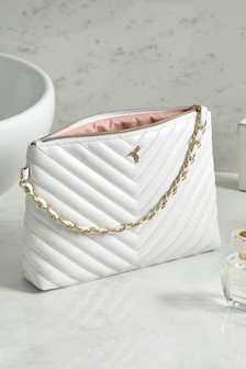 White Amber Cosmetics Bag