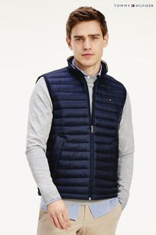 Tommy Hilfiger Blue Core Packable Down Gilet