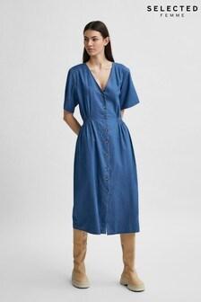 Selected Femme Sustainable Lightweight Clarisa Denim Dress