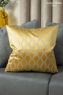 Nash Jacquard Cushion by Ashley Wilde
