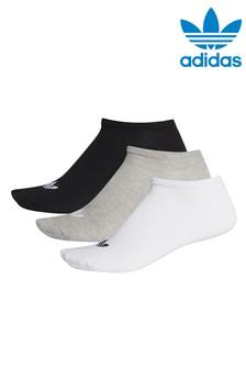 adidas Originals Kids Trefoil Trainer Socks 3 Pack