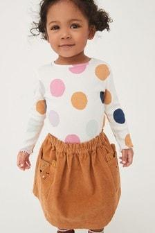 Cord Character Skirt (3mths-7yrs)