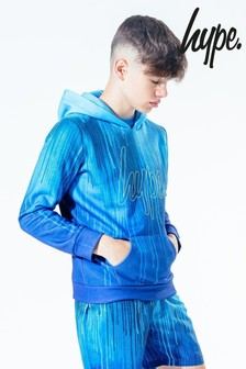 Hype. Kids Blue Fade Pullover Hoody