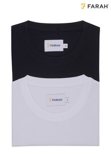 Farah Soft Handle T-Shirts Two Pack
