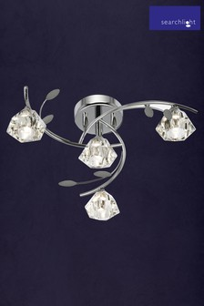 Paradise 4 Light Semi Flush Light Fitting by Searchlight