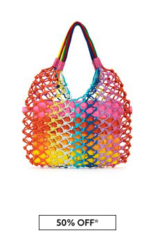 Girls Multicoloured Cotton Bag