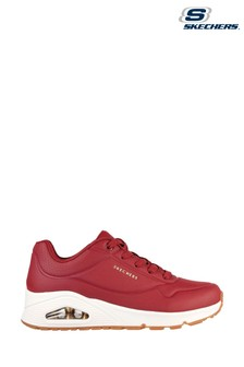 Skechers Red Uno Stand On Air Trainers