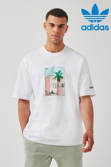 adidas Originals Palm Tree Summer T-Shirt