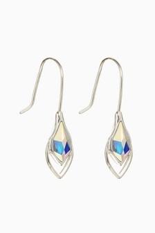 Silver Plated Tear Drop Earrings