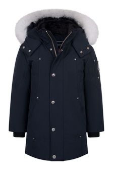 Kids Navy Parka