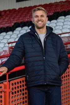 Raging Bull Blue Lightweight Puffer Jacket