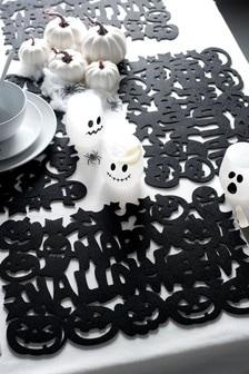 Set of 4 Halloween Felt Placemats