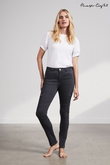 Phase Eight Grey Cathy Cargo Jeans