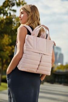 Pink Quilt Hybrid Rucksack