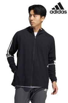 adidas Woven 3 Stripe Wind Breaker Jacket