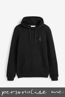 Personalised Black Hoody