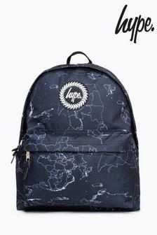 Hype. Black Maps Backpack