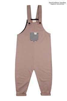 Turtledove London Stone Easy Fit Dungarees