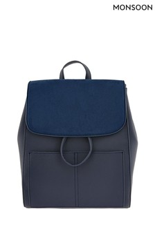 Monsoon Blue Paxton Pocket Backpack
