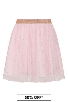 Carrement Beau Girls Pink Skirt