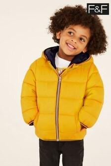 F&F Yellow Padded Coat