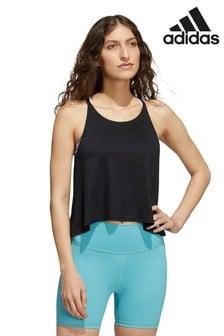 adidas Black Yoga Vest