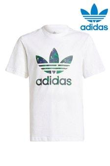 adidas Originals Camo Print Trefoil Tshirt