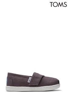 TOMS Ash Canvas Alpargata Shoes