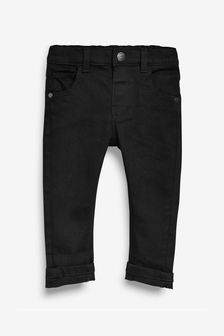 Black Slim Fit Jeans With Stretch (3mths-7yrs)