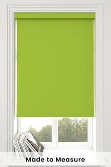 Haig Zest Green Made To Measure Blackout Roller Blind