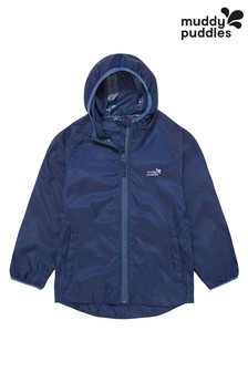 Muddy Puddles Blue Puddlepac Rain Jacket