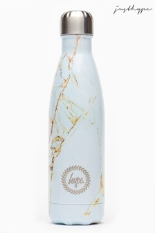 Hype. Rose Gold Marble Metal Reusable Bottle