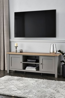 Dove Grey Malvern Wide TV Unit