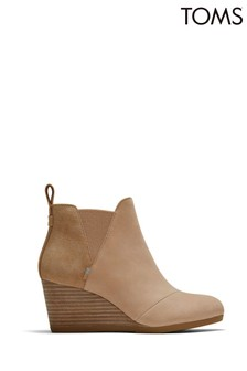 Toms Brown Kelsey Booties