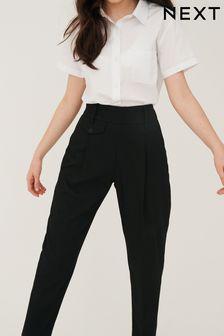 Black Senior Tapered Trousers (9-17yrs)
