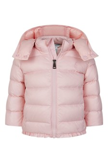 Baby Girls Light Pink Padded Jacket