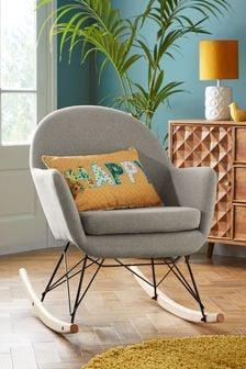Soft Marl Warm Grey Anderson Rocking Chair
