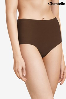 Chantelle Brown Soft Stretch High Waisted Briefs