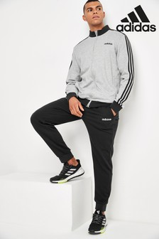 adidas Grey Team Sports Tracksuit