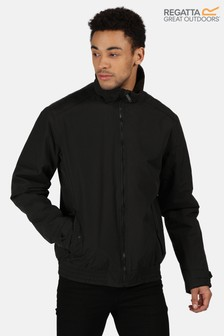 Regatta Black Rayan Bomber Jacket