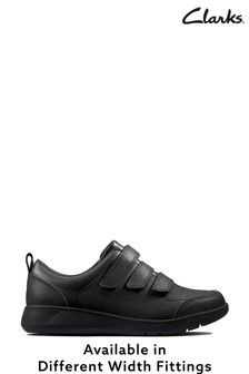 Clarks Black Scape Sky Y Shoes