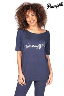 Pineapple Viscose T-Shirt