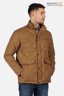 Regatta Brown Locke Quilted Jacket