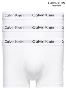 Calvin Klein Cotton Stretch Low Rise Trunks Three Pack